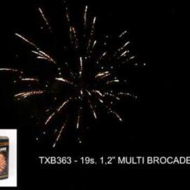 """TXB363 MULTI BROCADE 19S 1.2"""""""