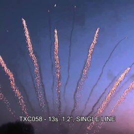 """TXC058 JEDNORZĘDÓWKA 13S 1.2"""""""