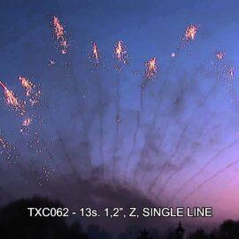 """TXC062 JEDNORZĘDÓWKA 13S 1.2"""""""