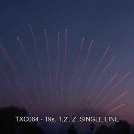 """TXC064 JEDNORZĘDÓWKA 19S 1.2"""""""