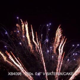 """XB4098 BATERIA 280S 0.8"""" V"""