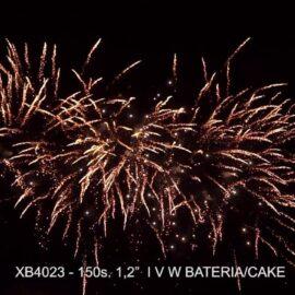 "XB4023 BATERIA  150S 1.2"" I,V,W"